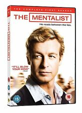 THE MENTALIST - COMPLETE SEASON 1 - DVD - UK Region 2 / sealed