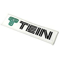 Tein Suspension Logo Small Embroidered Patch Iron-On Sew-On Official Goods JDM