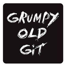 Posavasos Grumpy Old Git Diseño Té Café Mate Novedad Vajilla Mesa