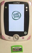 Leapfrog Leappad Explorer Pink/Purple/White Tablet & 1 Pixar Pals game