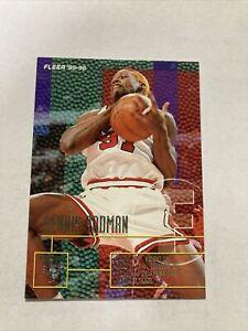 Dennis Rodman 1996 Fleer/ Skybox Card #213. Chicago Bulls. 1995-96 Season