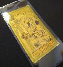 1 New Hampshire Goldback 1/1000 oz gold (1/10 of 1/100) indian thanksgiving type