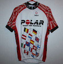 Vintage Polar cycling team jersey Nalini Size 4 Made in Italy