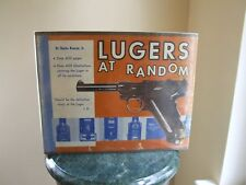 Lugers at Random by Charles Kenyon 1st 1969
