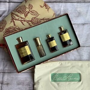 Vintage Estee Lauder Youth Dew 4 Piece Set Cologne Splash Bath Oil Parfum RARE