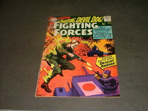 Our Fighting Forces #96 Nov 1965 Silver Age DC Comics Gunner & Sarge     ID:8041