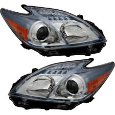 OE Replacement Headlights Headlamps NEW Pair Set for 2010-2011 Toyota Prius