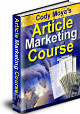 Expert's Article Marketing Secrets Revealed With Course - Get Results (CD ROM)
