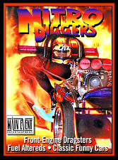 Drag Racing NITRO DIGGERS, Hot Rods from Hell A MAIN EVENT ENTERTAINMENT DVD