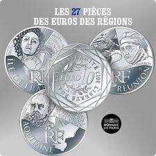 Série des Euros des régions 2012,  les 27 pièces.
