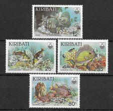 Kiribati 1985 Reef Fishes MNH set S.G. 232-235