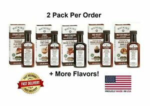 2 X Watkins Extracts And Flavoring, Choose Your Flavors, 2Pck (2oz ea) Bundle