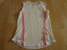 Women's Nike Performace M(8/10) Tank Top Exercise Workout White Pink