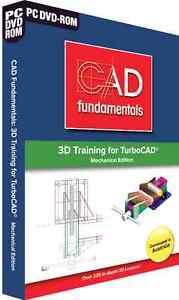 CAD Fundamentals 3D Training for TurboCAD Mechanical Edition