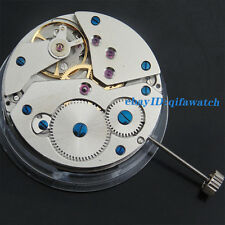 P439 Parnis Watch Kit Classic 17 Jewels Asian Hand Winding 6498 Watch Movement