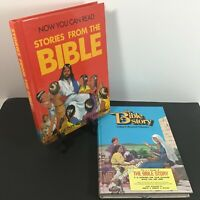 Nelson: NOW YOU CAN READ + BIBLE STORY Maxwell Vol 1 1980s Childrens Hardcover