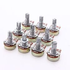 10Pcs B500K OHM Audio POTS Guitar Potentiometer Replace for Electric Guitar