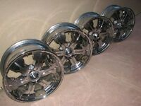 Mercury cruise log 79-895295A41 white//chrome rim or 79-895295Q61 Black//chrome