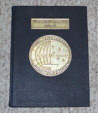 1965 1966 USS Ticonderoga CVA-14 + Carrier Air Wing Five cruise book Vietnam