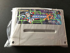 Megaman X-2 Rockman X 2 X2 Super Nintendo SFC Super Famicom