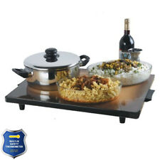 Isra Heat IS801HP-B Extra Large Hot Plate 18 x30 with Built in Safety Thermostat