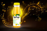 100% Pure Topinambur Syrup - No Sugar Added - Jerusalem Artichoke Syrup