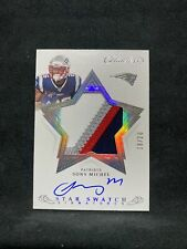 2019 Panini Flawless Sony Michel Star Swatch Signatures  #/20 AUTO 4 Color Patch