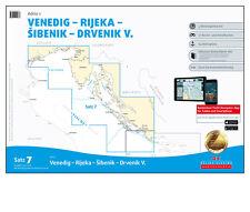 DK Satz 7, Mittelmeer - Adria 1, Kroatien Venedig Rijeka 2017 / 2018 # PC CD App