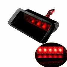 Universal Car Truck 5 LED Rear Stop Tail Light Third Strobe Brake Lamp Red Lens