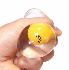 Vent Toy Japaness Sanrio Gudetama Lazy Egg Limp Pinch Mascot Clear Kawaii Gift