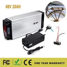 48V 20Ah 750W 1000W LED Rear Rack lithium Li-ion Battery E-bike Electric Bicycle