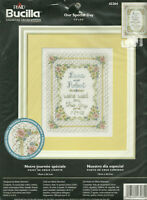 Our Special Day Counted Cross Stitch Kit Bucilla 43264 Wedding NIP sealed