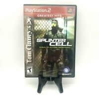 Tim Clancy's Splinter Cell Stealth Action Redefined Sony PlayStation 2 Greatest
