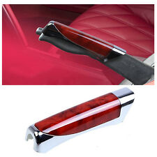 Car Carbon Fiber Style E Hand Brake Break Universal Cover Protector Decoration