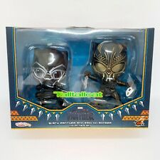 Marvel Hot Toys Black Panther & Erik Killmonger Cosbaby Collectible Set COSB488