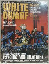 Warhammer White Dwarf Games Workshop's Weekly Magazine Issue 72 June 13 2015