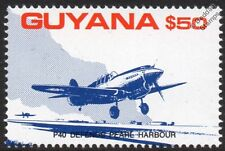 Curtiss P-40 WARHAWK Defends Pear Harbor WWII Aircraft Stamp