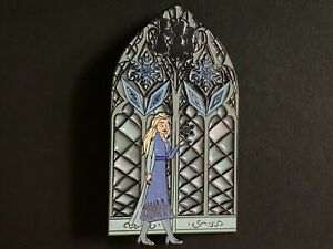Elsa Frozen - Stained Glass LE 25 - FANTASY Disney Pin 0