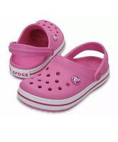 kids girls children crocs crocband clog band party pink c4 c12 c10 j1 j2 j3