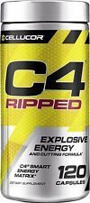 C4 Ripped Pre Workout Capsules | Creatine Free + Sugar Free Preworkout Energy...