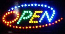 Ultra Bright Led Neon Light Animated Motion Flash Open Business Sign L101