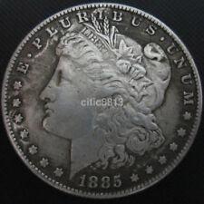 "1.54"" USA United States Morgan Dollar $1 1885 Silver Coin Collection Dollar UK"