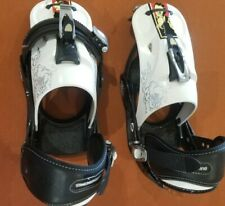 New listing Burton Mission Collectors Edition Snowboard Bindings, Mens large