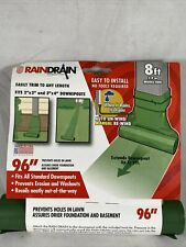 Rain Drain Downspout Extender UP to 8' Feet | Auto Unroll