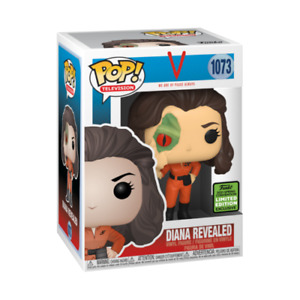 FUNKO POP VINYL V THE TELEVISION SERIES DIANA REVEALED #1073 2021 ECCC EXCLUSIVE
