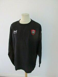 Maglietta Da Rugby Rct Toulon Nero hungaria Taglia XXL come Nuovo