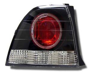 TENRAI 1994-1995 Honda Accord 2/4 Door Altezza Tail Light Lamp Pair Clear Black
