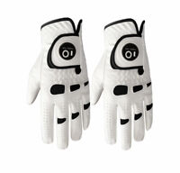 Golf Gloves Mens 2 Pack Ball Marker PerformanceGrip White Pick Size Bionic New