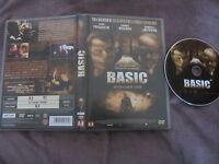 Basic de John Mctiernan avec John Travolta et Samuel L. Jackson, DVD, Thriller