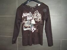 Miss Fiori - Long Sleeved Top - Size 12